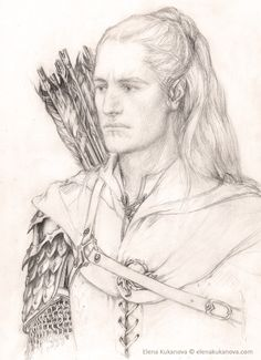 Beleg by ~ekukanova (Beleg Cuthalion of Children of Hurin)