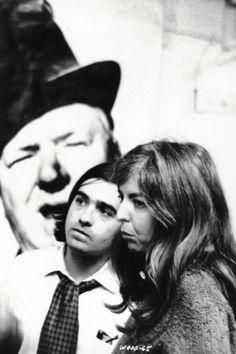 Martin Scorsese and Thelma Schoonmaker.