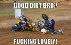 Dirtbike parts, offroad apparels, enduro jewelries, motocross items and much more. Find hard-to-find Enduro and Motocross items for yourself and as gifts. Funny Car Memes, Funny Animal Jokes, Crazy Funny Memes, Really Funny Memes, Funny Relatable Memes, Memes Humor, Hilarious, Dirtbike Memes, Motocross Funny