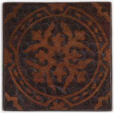 Www.coppersinksdirect.com   Copper Tile (TL314BQ) Baroque *free Shipping*