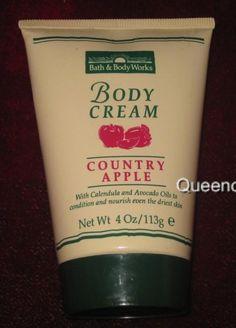 Bath & Body Works Country Apple Body Cream - early 90s