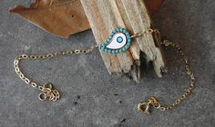 Check out this item in my Etsy shop https://www.etsy.com/listing/534644975/evil-eye-braceletgold-evil-eyeenamel
