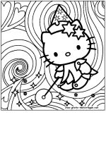 50 Hello Kitty Coloring Pages for children and adults Hello Kitty Colouring Pages, Coloring Pages For Boys, Cartoon Coloring Pages, Coloring Book Pages, Hello Kitty Drawing, Hello Kitty Art, Hello Kitty Birthday, Images Hello Kitty, Hello Kitty Tattoos