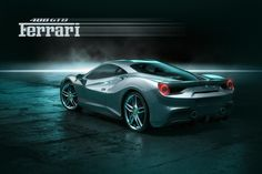 2016 Ferrari 488 GTB rendered in KeyShot by Tim Feher.