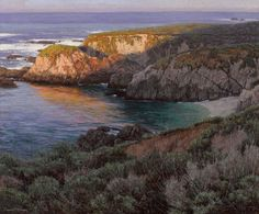 Dennis Donehy - HDR-like painted landscapes   Alternative
