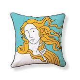 Found it at AllModern - Venus Double Sided Cotton Pillow