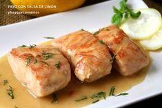 Skinny Recipes, Healthy Recipes, Carne Asada, Chicken Salad Recipes, Sin Gluten, Fresh Rolls, Tapas, Pork, Food And Drink