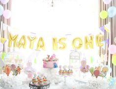 Maya's 1st dreamy hot air balloons