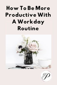 How to be more productive with a workday routine Work Productivity, Twitter Tips, Time Management Skills, Productive Day, How To Stop Procrastinating, Instagram Tips, Getting Things Done, Business Tips, Routine