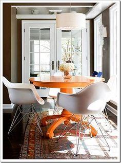 como renovar muebles comedor1 Idea para Renovar  los Muebles
