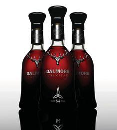 A primeira garrafa de whisky do mundo a quebrar a barreira de preço de seis dígitos foi revelada pela destilaria The Dalmore que vendeu duas garrafas por 100.000 Libras Esterlinas, cada.  O Trinitas de 64 anos, que recebeu este nome porque foram produzidas somente três garrafas, foi adquirido por um apreciador de whiskies de luxo dos Estados Unidos e por um renomado investidor em whiskies do Reino Unido.