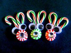 Christmas Craft 17 : Candy Cane Reindeer