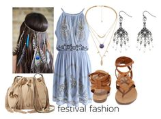 """Festival Fashion"" by moonstar843 on Polyvore featuring Collections by Hayley, Diane Von Furstenberg, Chicwish, Breckelle's and Avenue"