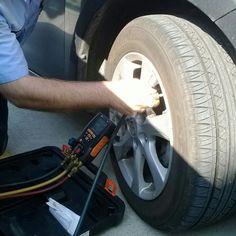 no tire gauge no problem - http://www.hvac-hacks.com/no-tire-gauge-no-problem/