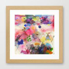 Dreamscape Framed Art Print by Ninola - $41.00