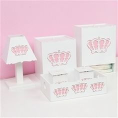 Kit Higiene Belly Coroa Rosa