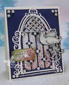 Inky Creations with Marie: Heartfelt Creations - Sending Easter Wishes