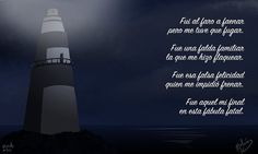 #DailySketch  #EscritoDiario 310  #Cuentiembre 06 #F de final  #microcuento #ilustración #digital #digitalpainting #poema #faro #final #texto #text #español #spanish #poem #lighthouse #night #noche