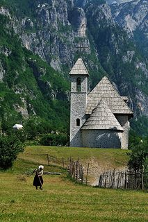 Albania - Theth church |