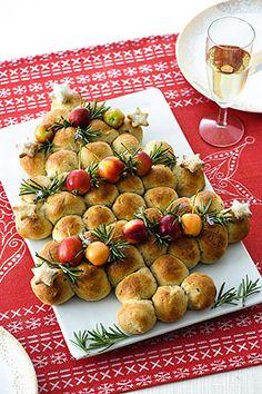 Alberello alle castagne col salame - Ricette delle feste - Donna Moderna
