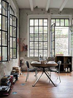 ...Porque não viver num loft - espaços antes destinados a outros fins, como o industrial, recuperados e adaptados para habitação?