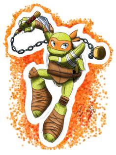 BOOYAKASHA !!! by ~agnes0177 on deviantART Ninja Turtles Art, Teenage Mutant Ninja Turtles, Gi Joe, Tmnt Mikey, Tmnt Girls, Leonardo Tmnt, Evil Villains, Tmnt 2012, Cute Art
