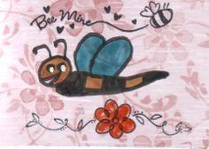 Bee Mine atc