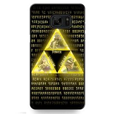 The Legend Of Zelda Triforce TATUM-10840 Samsung Phonecase Cover For Samsung Galaxy Note 7