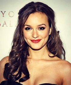 Leighton Meester dimples