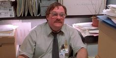 Office Space - Milton and his stapler. Office Space Quotes, Office Space Movie, Milton Office Space, Office Humor, Work Humor, Funny Office, Funny Work, Work Memes, Work Quotes