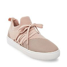 Steve Madden Women's Lancer Fashion Sneaker, Blush, 6.5 M-$69.95