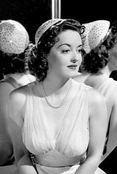 More strong and sassy ladies needed in TV & Film like Bette Davis