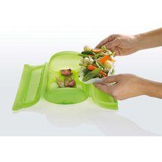 6. Sposób na warzywa na parze. Włóż do naczynie ulubione warzyw lub owoce. Dodaj odrobinę wody. Włóż do kuchenki mikrofalowej na ok. 5 min. Gotowe!  Więcej znajdziesz na mykitchen.pl #kuchnia #homedecor #zdrowegotowanie