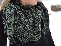 Ravelry: Peacock's Pride shawl pattern by Raina K