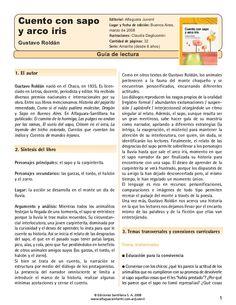 Guía Cuento con sapo y arco iris - Alfaguara Infantil https://www.yumpu.com/es/document/view/14490715/guia-cuento-con-sapo-y-arco-iris-alfaguara-infantil