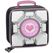 Portal Weighted Companion Cube Soft Tote Bag Lunch Box - http://lopso.com/interests/lunch-boxes/portal-weighted-companion-cube-soft-tote-bag-lunch-box/ -   Soft tote bag lunch box from Portal ! Carry a part of Aperture Science with you. Rep the game while holding your lunch! It makes a great companion. Soft tote-bag lunch box from the acclaimed Portal video game by Valve! The cool design on this lunch box is based on the Aperture Science...