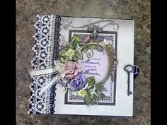 Designs by Shellie: TUTORIAL PART 1 - 8 X 8 MINI ALBUM DESIGNS BY SHELLIE TRANQUIL GARDENS P...
