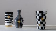 Versace и Venini выпустили лимитированную коллекцию ваз. Запускприурочен к 100-летию итальянского бренда Venini,специализирующегосяна производстве изделий из муранскогостекла.
