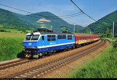 Trains, Railings, Train, Czech Republic