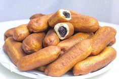 Smažené pirôžky Czech Desserts, Sweet Desserts, Sweet Recipes, Delicious Desserts, Slovak Recipes, Czech Recipes, Ethnic Recipes, Bread And Pastries, Sweet And Salty