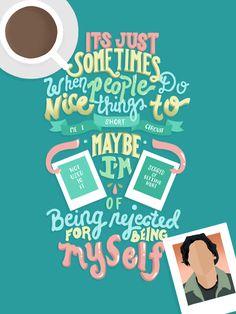 """""""Nice Things"""" (Riverdale lettering fan art)"""