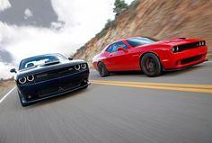 10 Amazing Facts: Dodge Challenger SRT Hellcat. Click for muscle car heaven! #spon #badass