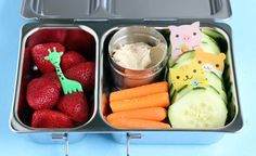 Cute Animals Snack in the PlanetBox Shuttle