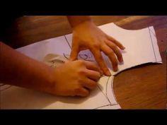 TIPS , IMPORTANTES PARA UNA PRENDA PERFECTA (TRAZO BLUSA DELANTERO) - YouTube Marketing Software, Pattern Drafting, Dress Cuts, Sewing Clothes, Sewing Hacks, Blouse Designs, Dress Designs, Free Pattern, Sewing Patterns