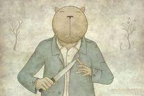 'Strange days are comming' by Kuba Gornowicz on artflakes.com as poster or art print $17.33