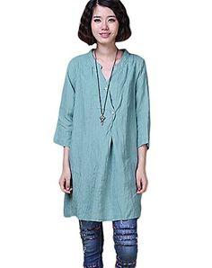 Minibee Ladyies Dress Shirt Summer T-shirt Dress Minibee http://www.amazon.com/dp/B00W0LZTMG/ref=cm_sw_r_pi_dp_nh6Mvb1F0G3HV