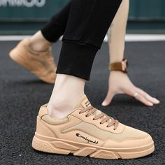 New Mesh Shoes Trend Wild White Shoes Sports Casual Shoes Breathable Tide Men's Shoes - Welcome To Best Place To Buy Shoes Best Sneakers, Sneakers Style, Sneakers Nike, Buy Shoes, Men's Shoes, Beige Ankle Boots, Sneakers For Plantar Fasciitis, Fashion Shoes, Men Fashion