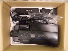 VHS Sylvania Video Camera VCC161AV01 bundle untested #Sylvania