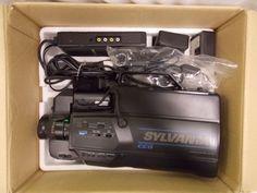 VHS Sylvania Video Camera VCC161AV01 bundle untested #Sylvania