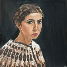 Nuala Herron self portrait